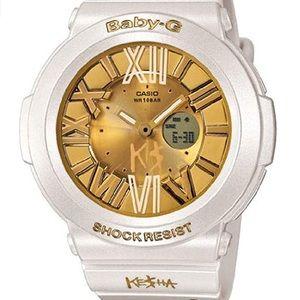 NWOT Rare Ke$ha Casio Baby-G Analog-Digital Watch